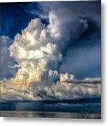 Mothership Thunderstorm  Metal Print