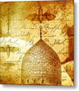 Moths And Mosques Metal Print