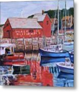Motif Number One Metal Print