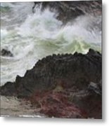 Motion Of A Wave Metal Print