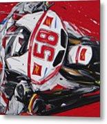 Moto Gp Simoncelli Honda 58 Metal Print
