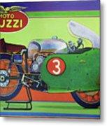 Moto Guzzi V8 Metal Print