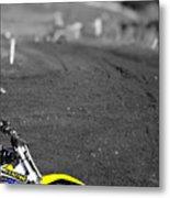 Motocross Slingshot Metal Print