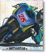 Motogp - Maverick Full Gas  Metal Print