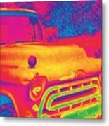Motor City Pop #6 Metal Print