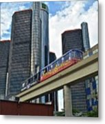 Motoring In The Motor City Metal Print