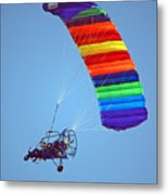 Motorized Parasail 2 Metal Print