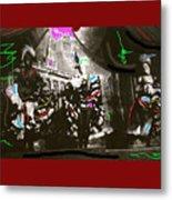 Moulin Rouge Homage Diamond Tooth Gerties Chorus Line Dawson City Yukon Territory Canada 1977-2008 Metal Print