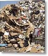 Mound Of Recyclables Metal Print