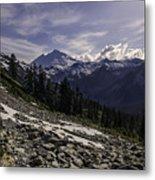 Mount Baker From The Lake Ann Trail 2 Metal Print