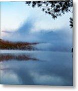 Mount Chocorua Peeks Above The Fog Metal Print