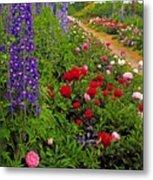 Mount Congreve Gardens, Co Waterford Metal Print