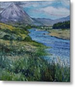 Mount Errigal Co. Donegal Ireland. 2016 Metal Print
