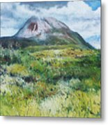 Mount Errigal County Donegal Ireland 2016 Metal Print