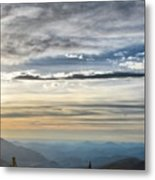 Mount Evans Painterly 1 Metal Print
