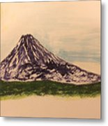 Mount Fuji And Power Of Mystery Metal Print