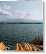 Mount Fuji View Metal Print