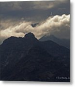 Mount Graham Mountain In Arizona Metal Print