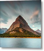 Mount Grinnell In Glacier Np Metal Print