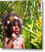 Mount Hagen Papua New Guinea Aog 91 Metal Print