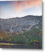 Mount Katahdin From Chimney Pond In Baxter State Park Maine Metal Print