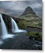 Mount Kirkjufell Iceland Metal Print