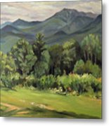 Mount Lafayette From Sugar Hill New Hampshire Metal Print