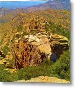 Mount Lemmon II Metal Print