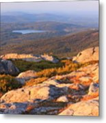 Mount Monadnock Summit View Metal Print