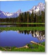 Mount Moran Tetons Nat'l Park Metal Print