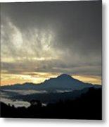 Mount Of Borneo Malaysia Metal Print