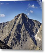 Mount Of The Holy Cross In The Sawatch Range Of The Colorado Rockies Metal Print