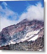 Mount Rainier Closeup Metal Print