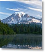 Mount Rainier Reflections Metal Print by Greg Vaughn - Printscapes