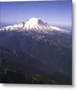 Mount Rainier Washington State Metal Print