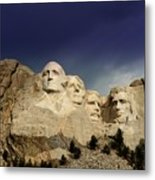 Mount Rushmore Metal Print by Brent Parks