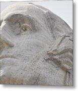 Mount Rushmore George Washington Metal Print