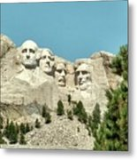 Mount Rushmore Metal Print