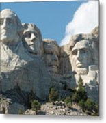 Mount Rushmore Monument Metal Print