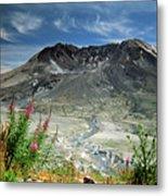 Mount Saint Helens Caldera Metal Print