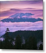 Mount Saint Helens Sunset Metal Print