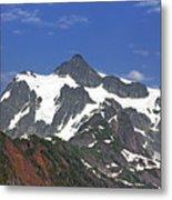 Mount Shuksan In The Cascade Mountains Metal Print