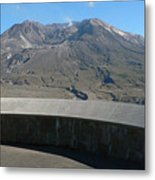 Mount St. Helen Memorial Metal Print
