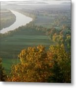 Mount Sugarloaf Autumn Morning Metal Print