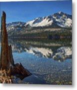 Mount Tallac And Fallen Leaf Lake Metal Print