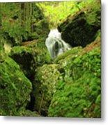 Mount Toby Roaring Falls Ravine Metal Print