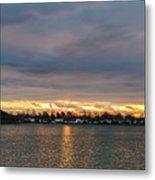 Mount Trashmore Sunrise 2 Metal Print