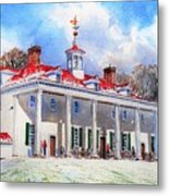 Mount Vernon After The Squall Metal Print