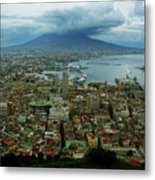 Mount Vesuvius Naples It Metal Print