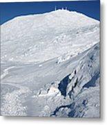 Mount Washington - White Mountain New Hampshire Usa Winter Metal Print